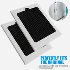 2 Pcs Refrigerator Air Filter Replacement For Frigidaire Paultra Pureair Black