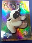 TY Beanie Babies Card, Series 2 BLUE FOIL, RETIRED, Chops the Lamb (NM/MINT)
