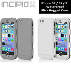 Incipio iPhone SE 5S 5 Case Atlas ID Shockproof Rugged Waterproof Hard Cover