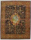 Fascinating Unique Tree of Life Signed Tabriz Persian Rug Oriental Carpet 10X13