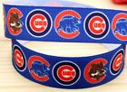 5 Yards 7 8 Chicago Cubs Grosgrain Ribbon Crafts Bows Scrapbooking
