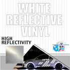 White Reflective Vinyl sign supplies Sign Hight Reflectivity 24 x 1 FT