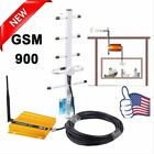 GSM 900MHz Mobile Cell Phone Signal Booster Repeater Amplifier +Yagi Antenna EX