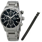 Maurice Lacroix Pontos S Black Dial Stainless Steel Mens Watch PT6008-SS002-330