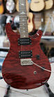 PRS SE Custom 24 Cherry or Chestnut Quilt Top SUPER CLEAN With Case