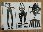 Stampin Up CLOWNING AROUND Set of 6 Wood Mounted Rubber Stamps Lot Clown Circus