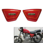Right & Left Red Frame Side Cover Fairing Panels For Suzuki GN250 1982-2001