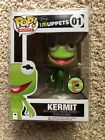 FUNKO POP MUPPETS SERIES KERMIT THE FROG METALLIC 2013 SDCC 480 LE EXCLUSIVE