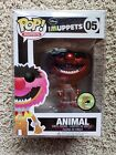 FUNKO POP MUPPETS SERIES ANIMAL METALLIC 2013 SDCC 480 LE EXCLUSIVE