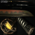 Katana Samurai Japanese Sword Red T10 Carbon Steel Clay Tempered Blade Sharp
