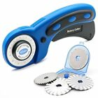 45mm Rotary Cutter Set for Sewing Fabric Leather Quilting Tools with 5