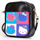 HELL0 KITTY ART Sling Bag Crossbody Women Shoulder Casual Bags Leather