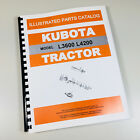 KUBOTA L3600 4200 TRACTOR PARTS ASSEMBLY MANUAL CATALOG EXPLODED VIEWS NUMBERS