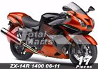 For Fairing Kawasaki Ninja ZX14 ZX1400 ZX14R ZZR1400 2006-2011 Injection fc1029