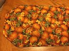 Festive Fall Halloween Quilted Table Runner