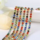 22.534mm Crystal Rhinestone Close Chain Trim Sewing Craft Diy Crystal Chain