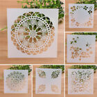 Lace Cake Spray Stencil Wall Decoration Template Diy Scrapbooking Drawing Tools