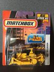 Matchbox Real Working Rigs Construction Bulldozer Yellow Version