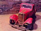 118 Scale DiecastCustom Weathered  Rusted Red 1932 Ford 3 Window Coupe