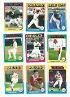 2011 Topps Lineage 1975 Mini Baseball Cards Lot of 9 NMMT MINT