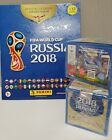 2018 Panini Russia FIFA World Cup Soccer Sticker Bundle 2 BOXES