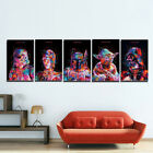5Pcs Star War Film Roles Movie Canvas Wall Art HD Print Picture Home Decor