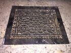 Vintage Floor / Wall Heat Register Metal Vent  Antique Grate Black Retro