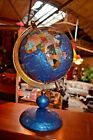 Desk Blue Globe With Stand