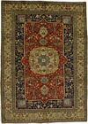 Astounding Tree of Life Vintage Tabatabaei Persian Rug Oriental Area Carpet 7X9