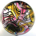 Hot House Glass mashed up banded swirl marble 165 42mm 292