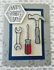 Stampin Up Nailed It Fathers Day Card Handmade Tools