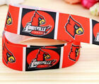 5 Yards 7 8 Louisville Cardinals Ribbon Grosgrain Sports Crafts Bows Scrapbook
