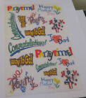 RUB ON TRANSFERS 200 sheets Holidays  Parties Mothers Day Party Time July 4
