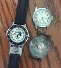 US Army Watch Lot WW2 COMPASS MILITARY MARINE 45 CALIBER