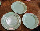 Lot of 3 Hazel Atlas Moderntone Platonite Green 1950s 9