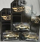 Hot Wheels 67 gold camaro chase Lot Of 3