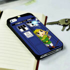 Funny Legend Of Zelda Link Tardis Box Samsung S6 S7 S8 S9 iPhone 6 7 8 6s case