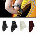 4 Pcs/Set Plastic 1 Thumb 3 Finger Nail String Gutar Picks Plectrums EC