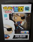 Funko Pop! ROSE WILSON Teen Titans Go #582 Toys R Us Limited Exclusive
