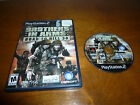 Brothers in Arms: Road to Hill 30 (Sony PlayStation 2, 2005) PS2 No Manual