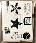 Stampin Up Spotlight on Christmas Stamp Set Unmounted Retired Holiday Joy Star