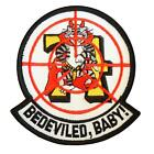 Bedeviled Baby VF-74 F-14 Tomcat embroidered VFA-74 sew iron on patch