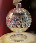 Indiana Laurel Wreath 1010 Candy Dish Sugar Bowl RARE FIND Glass circa 1940's