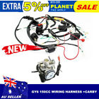 Carby + Full Electric Engine Wiring Harness Loom GY6 150cc Quad Bike ATV Buggy
