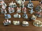 David Winter Cottages, 18 cottages &1-Collectors guild piece Free shipping