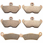 1994-2001 BMW R1100RT (Cast wheel / ABS) Sintered HH Front & Rear Brake Pads
