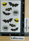 Mrs Grossman BATS AND SPIDERS Stickers HALLOWEEN OUT OF PRINT 1 2 SHEET