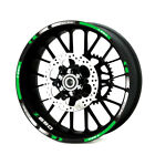 For Kawasaki Z650 2017-2018 Outer Wheel Rim Reflective Stickers Stripes Decals
