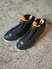 Nike Air Jordan 9 Retro 302370 004 Black Citrus White Athletic Sneakers size 95