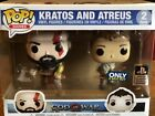 Funko POP Kratos and Atreus 2pk God of War Exclusive Playstation Limited Edition